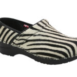 Sanita Closed Pony Zebra